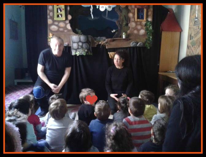 Παγκόσμια μέρα Θεάτρου για παιδιά