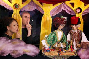 Κουκλοθεατρική παράσταση Ο χαλούμ και το μαγικό φίλτρο