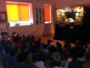 Παράσταση Κουκλοθεάτρου Ψέματα...Μπερδέματα σε αγαπημένο μας σχολείο