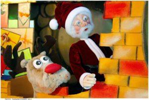 Η παράσταση Κούκλας Ένας σάκος γεμάτος ...ευχές στο Βρυσάκι